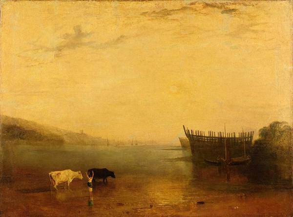 Turner Painting - Teignmouth Harbour by Joseph Mallord William Turner