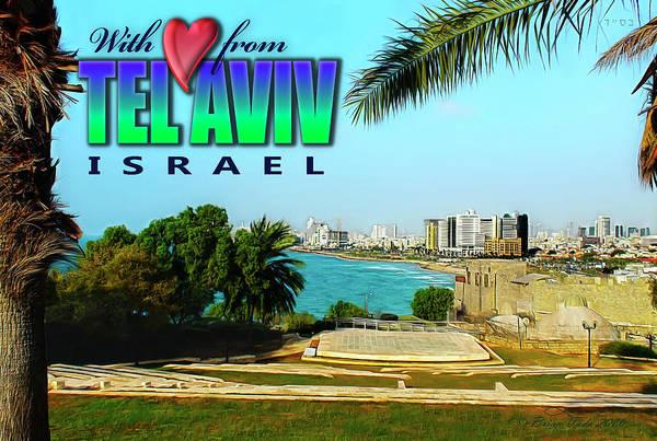 Photograph - Tel Aviv Israel by Brian Tada