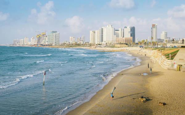 Photograph - Tel Aviv, Israel Skyline by Alexandre Rotenberg