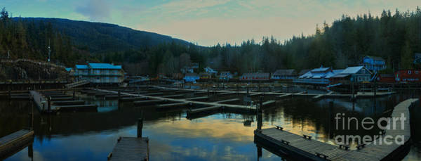 Photograph - Telegraph Cove Bc Panorama by Adam Jewell