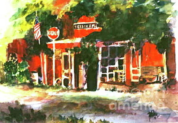 Painting - Telegraph Texas by Patsy Walton