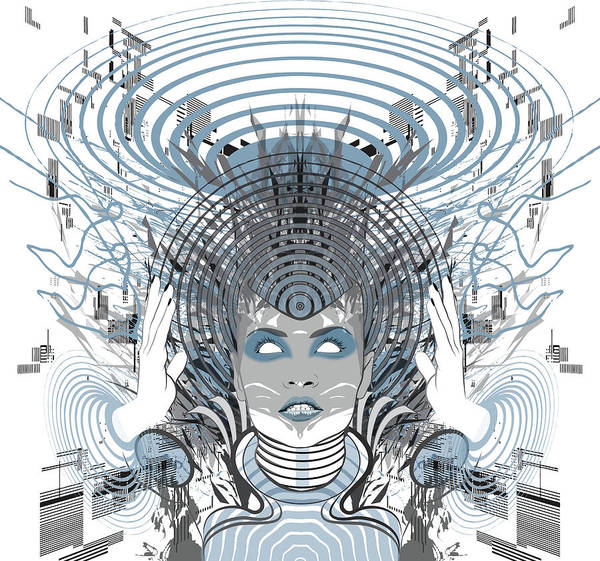 Digital Art - Telepathy by Jason Casteel