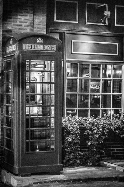 Photograph - Telephone Booth by Randy Bayne