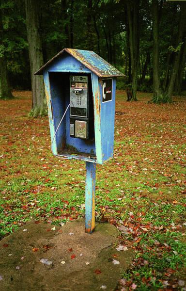 Photograph - Telephone Box 2017 by Frank Romeo