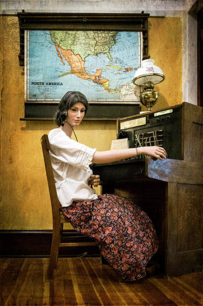 Photograph - Telephone Operator by Mary Lee Dereske