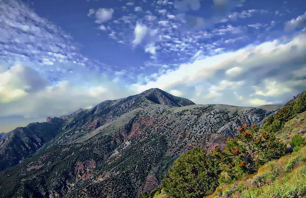 Photograph - Telescope Peak In Autumn by Anthony Dezenzio
