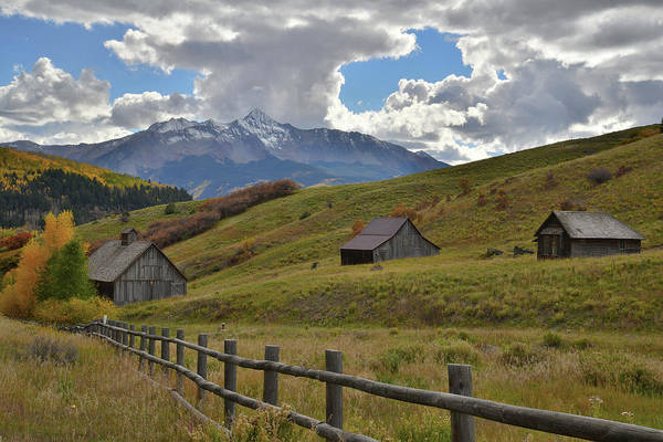 Photograph - Telluride Countryside by Ray Mathis