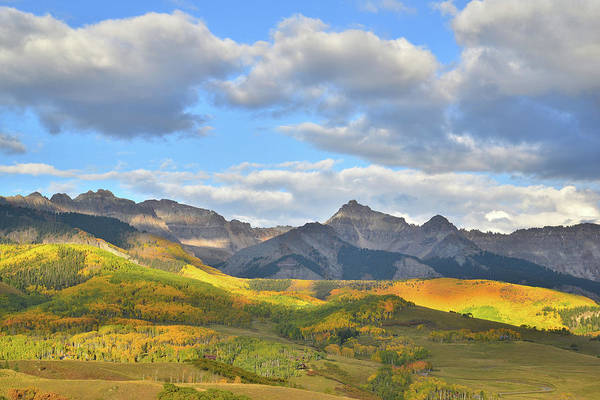 Photograph - Telluride Fall Color Spotlight by Ray Mathis