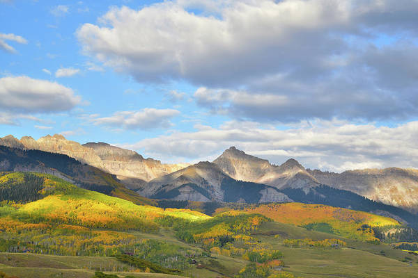Photograph - Telluride Fall Landscape by Ray Mathis