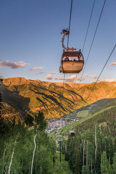 Photograph - Telluride Gondola 2 by Whit Richardson