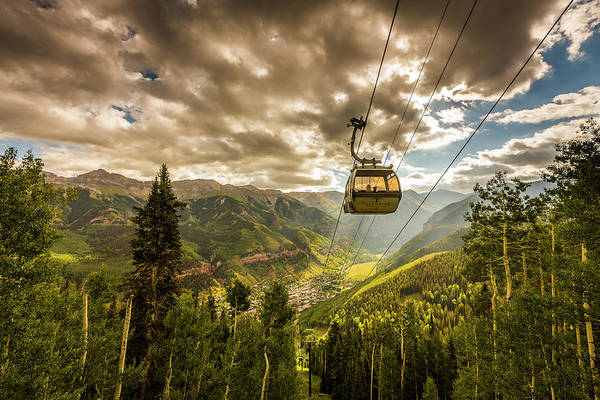 Photograph - Telluride Gondola by Whit Richardson