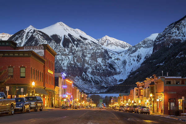 Photograph - Telluride Main Street 3 by Whit Richardson
