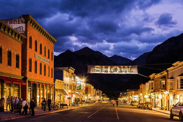 Photograph - Telluride Main Street by Whit Richardson