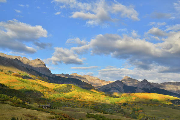 Photograph - Telluride Mountainscape by Ray Mathis