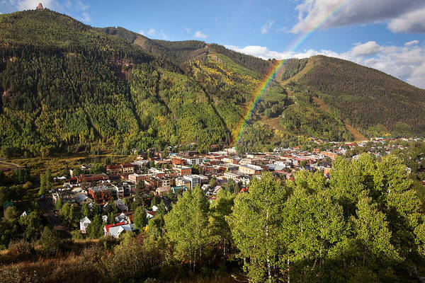 Photograph - Telluride Rainbow by Whit Richardson