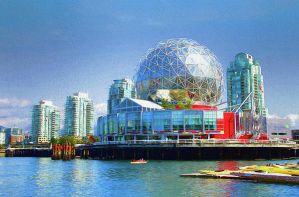 Photograph - Telus World Of Science - Vancouver Canada by Ola Allen