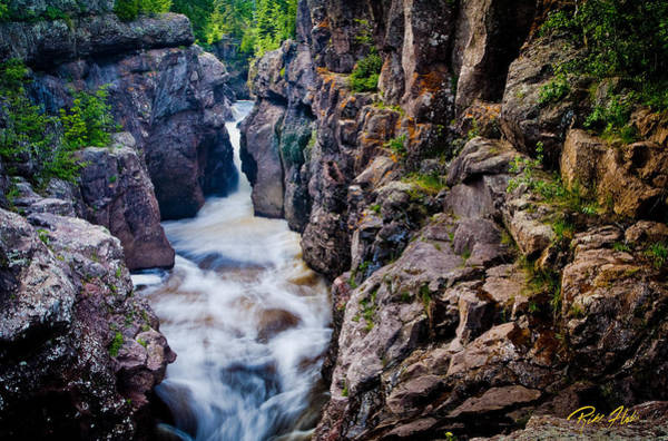 Photograph - Temperance River Gorge by Rikk Flohr