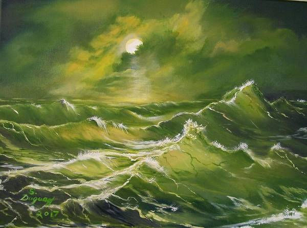 Painting - Tempest  by Sharon Duguay
