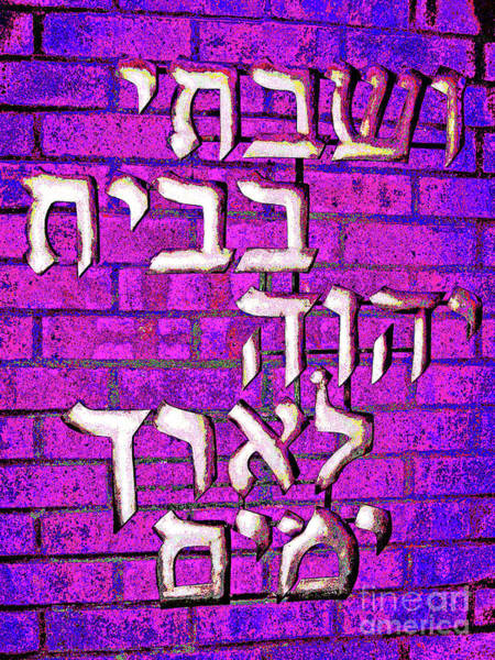Photograph - Temple Adath 2 by Larry Oskin