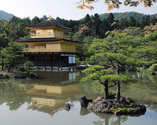 Wall Art - Photograph - Temple Garden - Kyoto Japan by Daniel Hagerman