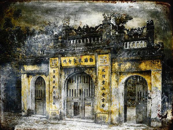 Wall Art - Photograph - Buddhist Temple by Skip Nall