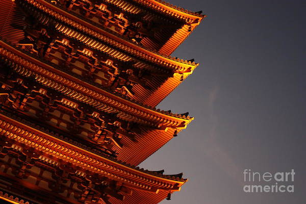 Photograph - Temple Lights by Carol Groenen