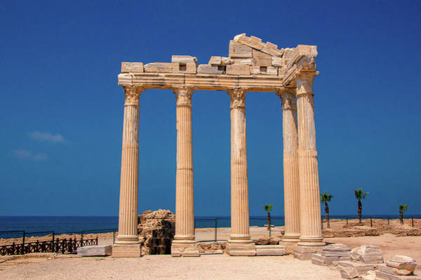 Photograph - Temple Of Apollo In Side by Sun Travels