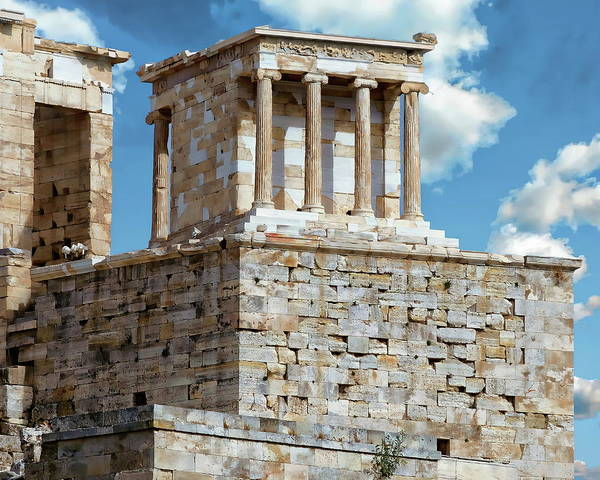 Photograph - Temple Of Athena Nike by Anthony Dezenzio