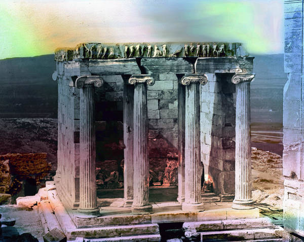 Photograph - Temple Of Athena by Robert G Kernodle