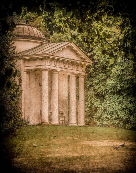 Photograph - Kew Gardens, England - Temple Of Bellona by Mark Forte