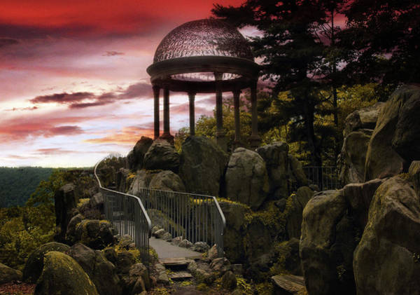 Photograph - Temple Of Love Sunset  by Jessica Jenney