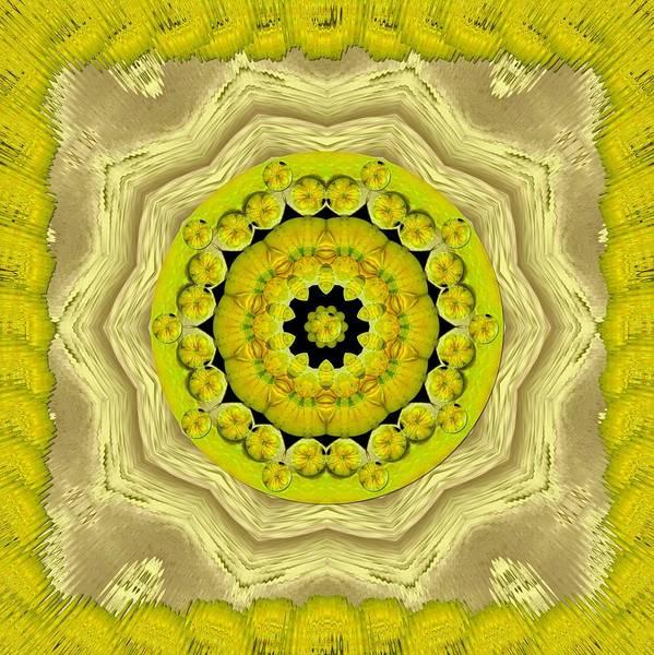 Temple Mixed Media - Temple Of Magic Wisdom by Pepita Selles