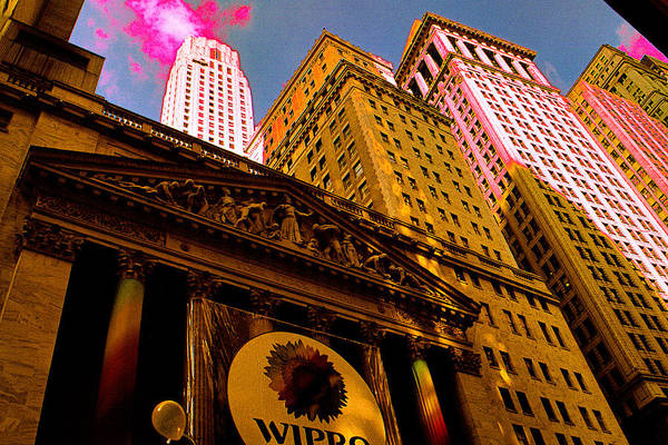 Painting - New York Stock Exchange 2008 - Digital Art by Peter Potter
