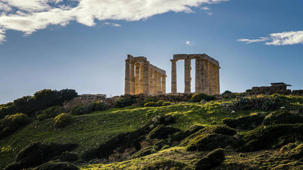 Photograph - Temple Of Poseidon I by James Billings