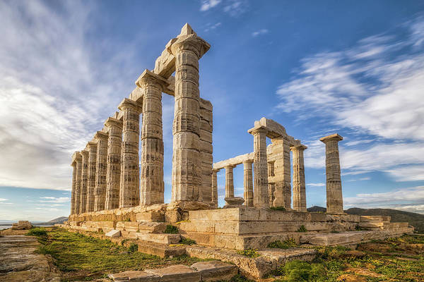 Photograph - Temple Of Poseidon II by James Billings