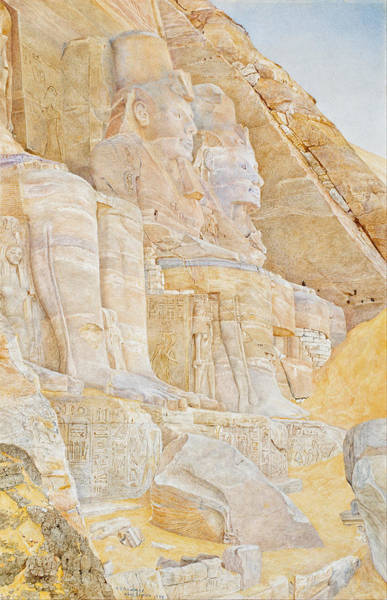Roderick Painting - Temple Of Ramses II by Henri Roderick Newmann
