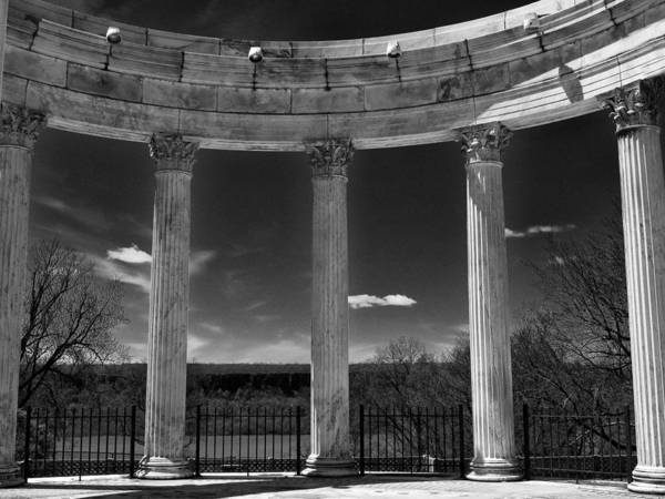 Photograph - Temple Of The Sky Monochrome by Jessica Jenney