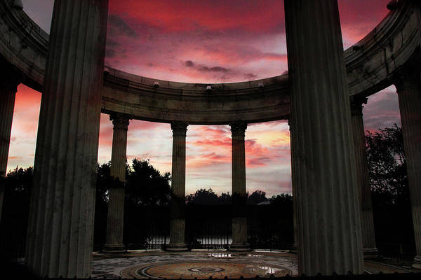 Photograph - Temple Of The Sky Sunset by Jessica Jenney