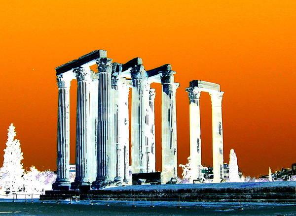Photograph - Temple Of Zeus by Karen J Shine