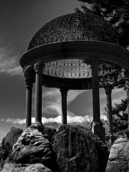 Photograph - Temple On A Cliff by Jessica Jenney