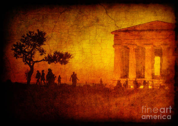 Photograph - Temple by Silvia Ganora