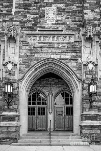 Photograph - Temple University Mitten Hall by University Icons