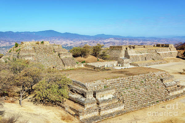 Wall Art - Photograph - Temples In Monte Alban by Jess Kraft