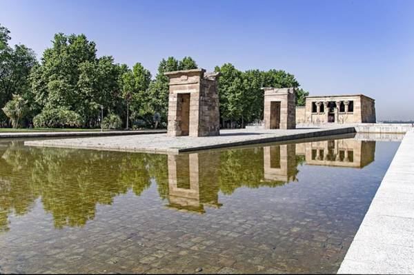 Photograph - Templo De Debod by Ross G Strachan