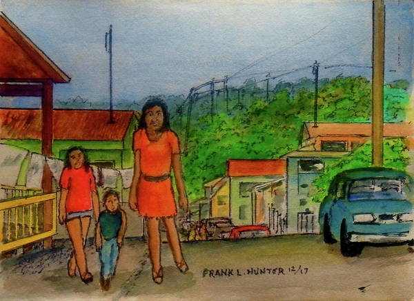 Painting - Temporarily Lost In San German Puerto Rico by Frank Hunter