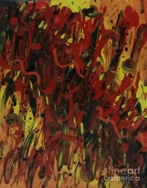 Painting - Temptation by Diamante Lavendar