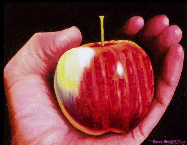 Painting - Temptation by Gene Gregory