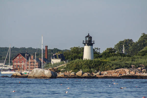 Photograph - Ten Pound Island Lighthouse 3 by Brian MacLean