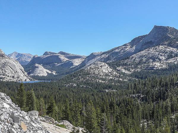 Photograph - Tenaya Lake And Surrounding Mountains Yosemite National Park by NaturesPix