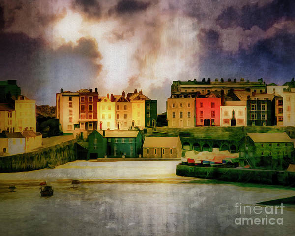 Digital Art - Tenby by Edmund Nagele